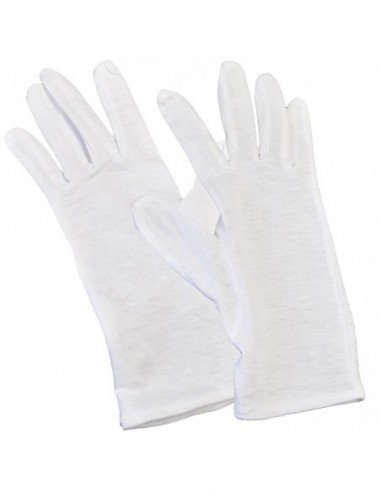 Rękawiczki bawełniane niepylące