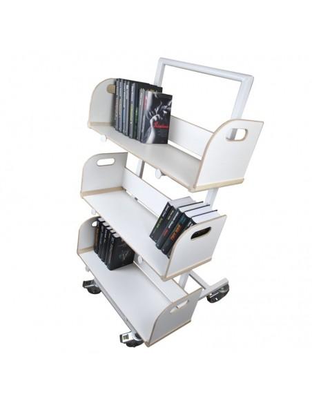 Wózek biblioteczny CHRIS