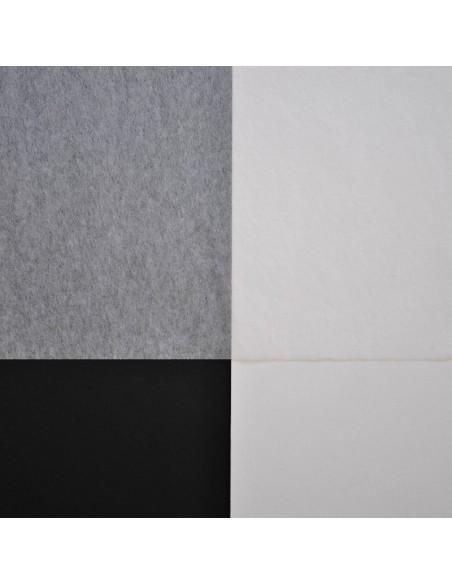 Bibułka japońska Kashmir na białym i czarnym tle