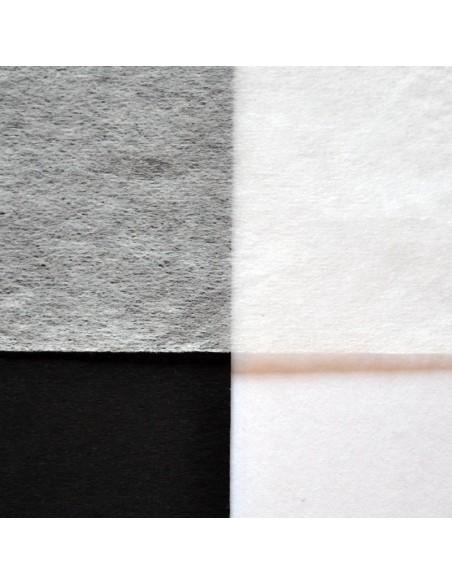 Bibułka japońska Kuranai natur na białym i czarnym tle