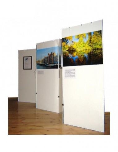 Systemy ścian wystawienniczych dla muzeów i galerii