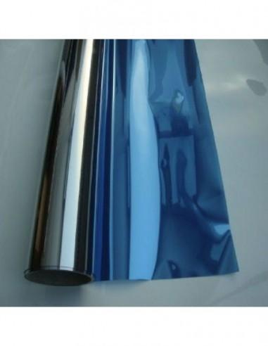 Folia przeciwsłoneczna wewnętrzna Blue Silver
