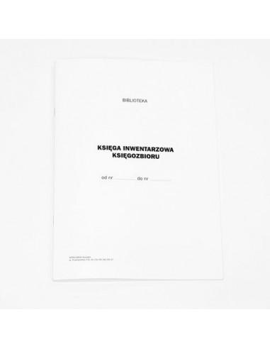 B-123 Księga inwentarzowa księgozbioru, 22 karty w oprawie broszurowej