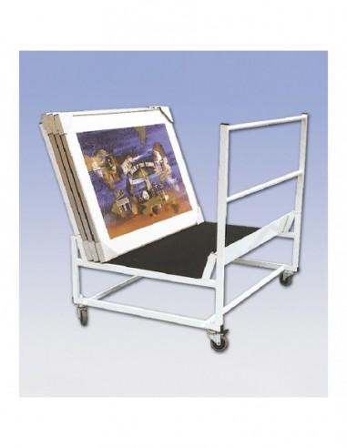 Wózek na obrazy