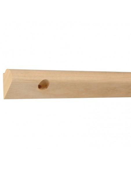 Szyna galeryjna drewniana