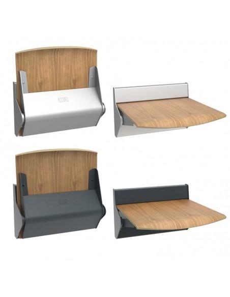 Składane krzesełka bez oparcia