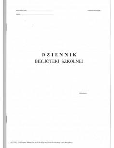 Dziennik biblioteki szkolnej MEN-I/8
