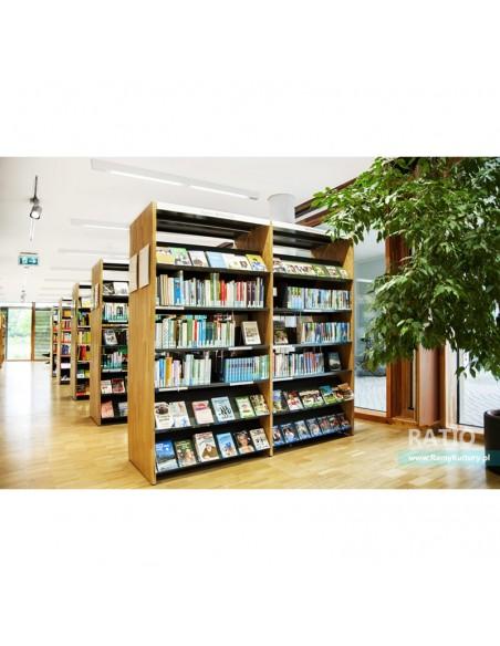 System regałów bibliotecznych Ratio