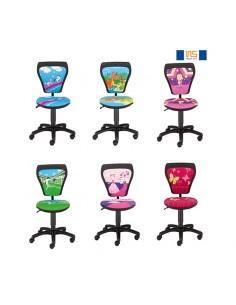 Krzesła obrotowe dla dzieci Cartoons GTS