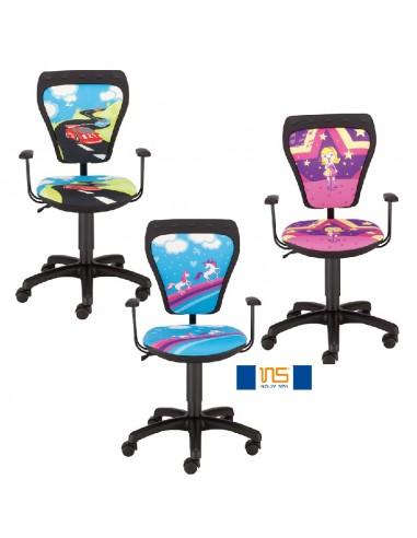 Krzesła dziecięce Cartoons GTP