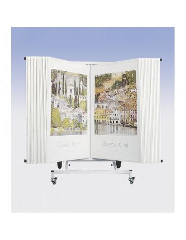 Wózek do prezentacji plakatów