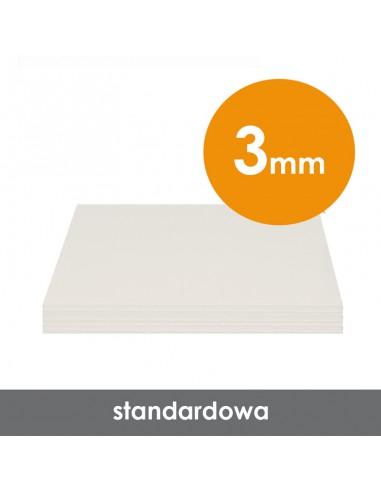 Płyta piankowa wystawiennicza Altera biała, 3 mm