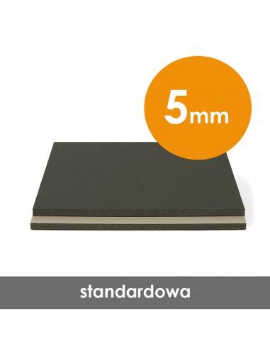 Płyta piankowa wystawiennicza Altera szaro-czarna, 5 mm