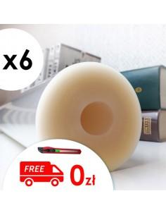 Pakiet 6 rolek folii 40 x 50 cm