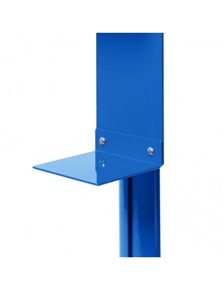 Niebieska podstawka