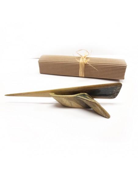 Nożyk do papieru z kości beżowy