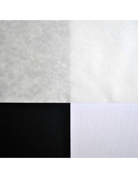 Bibuła filtracyjna jakościowa na białym i czarnym tle