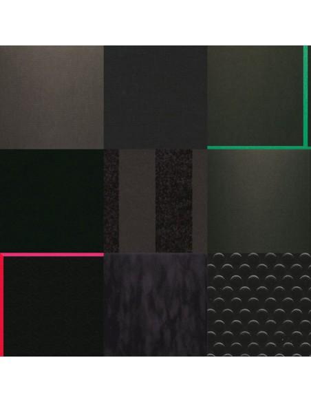 Czarne kartony do oprawy