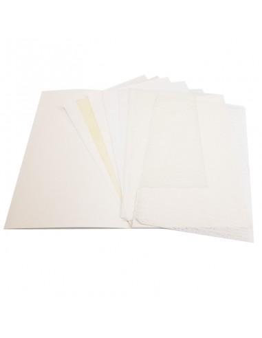 Zestaw bibułek i papierów japońskich A4