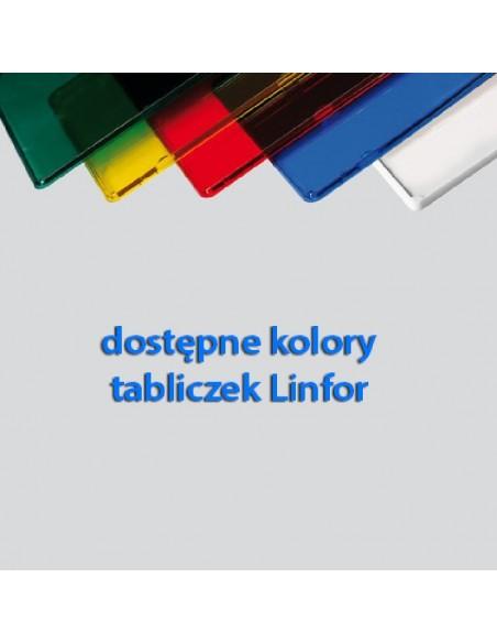 Kolory tabliczek Linfor