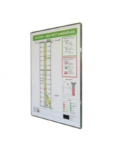 Tabliczki do prezentacji informacji Linfor
