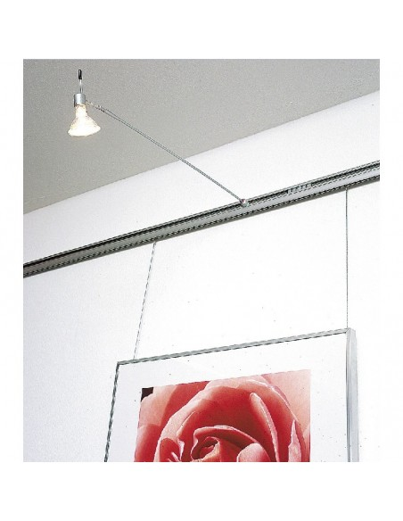 GALERIA system zawieszeń obrazów z oświetleniem zintegrowanym