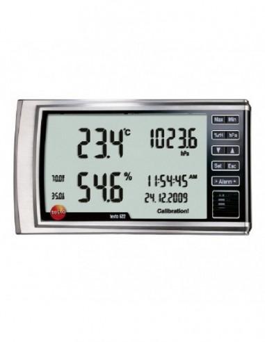 Miernik Testo 622 do pomiaru temperatury, wilgotności i ciśnienia
