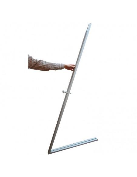 Sztaluga metalowa po złożeniu
