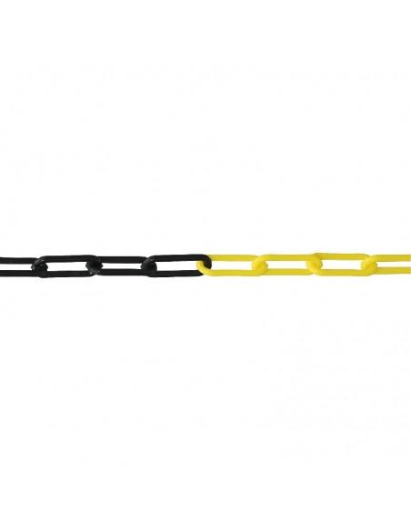 Łańcuch żółto-czarny